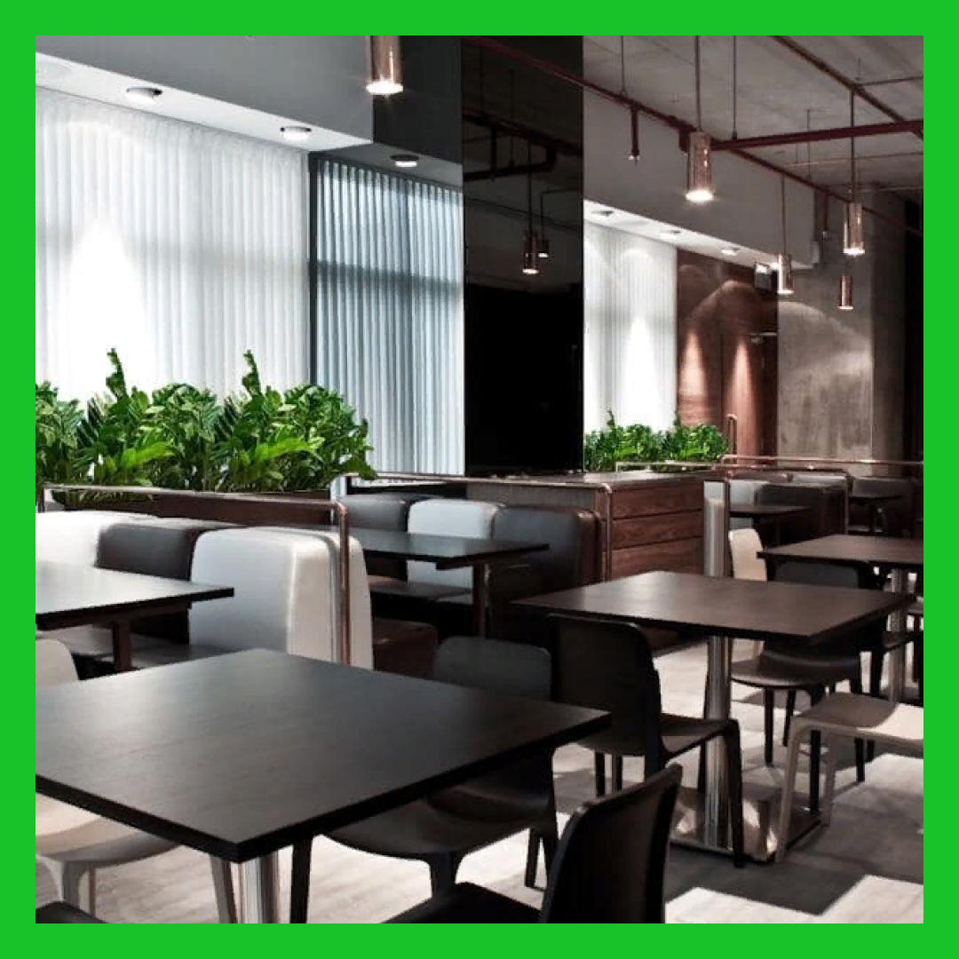 и кафе - Озеленение в сегменте HoReCa